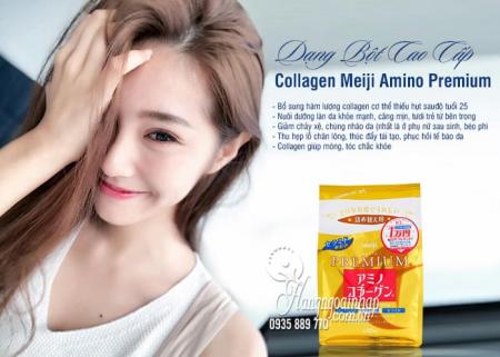 Collagen Meiji Dạng Bột Của Nhật - Meiji Amino Collagen 7