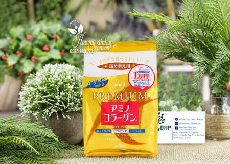 Collagen Meiji Dạng Bột Của Nhật - Meiji Amino Collagen 9